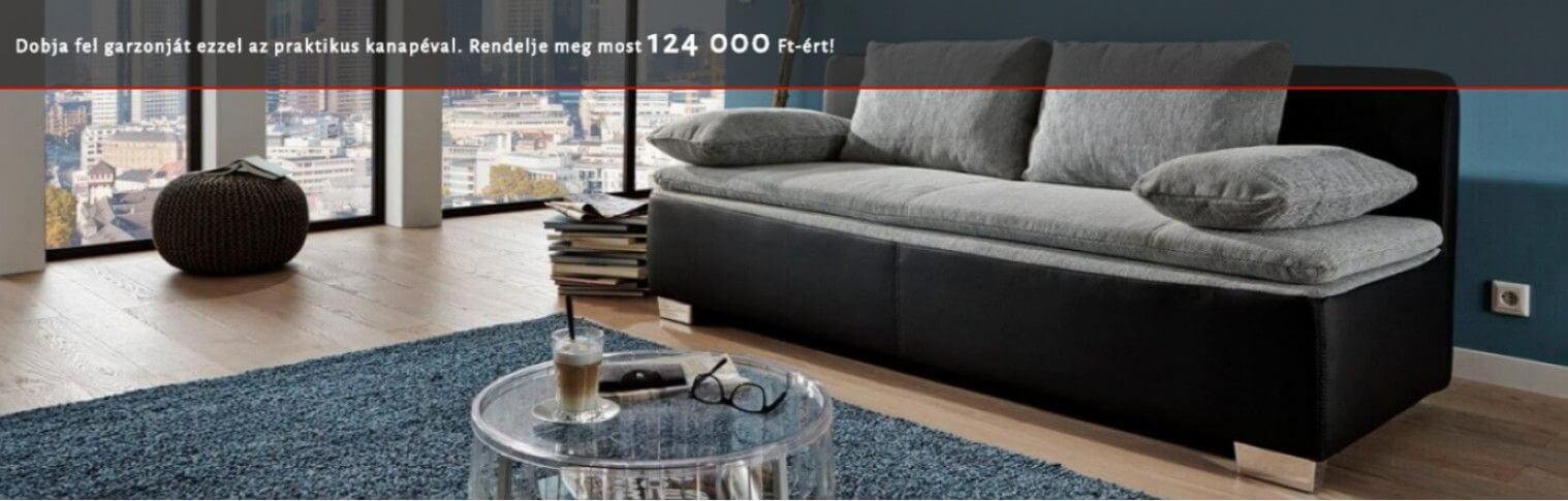 Duett kanapé budapesti raktárunkban