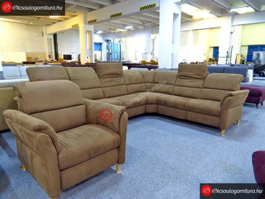 Relaxa sarokülőgarnitúra és fotel