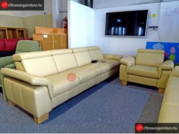 Relaxa bőr ülőgarnitúra és fotel