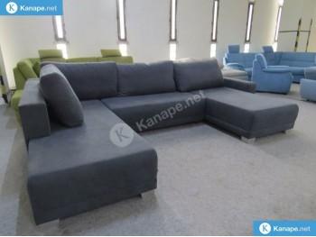 Aldeno U alakú kanapé miniatűr képe