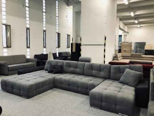 Anett U formájú luxus ülőgarnitúra