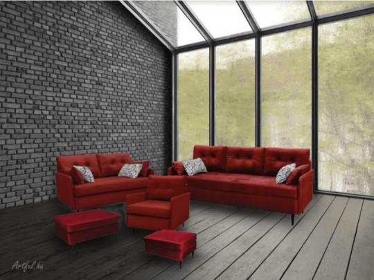 K145 2-es fix kanapé