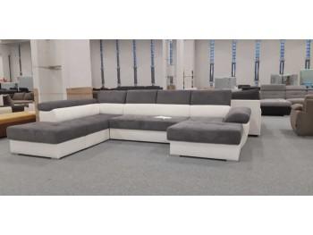 Aurora ágyazható U alakú kanapé