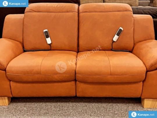 Barolo bőr relaxos kanapé