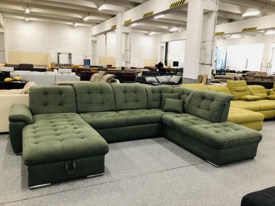 Bilbao U formájú ágyazható ülőgarnitúra