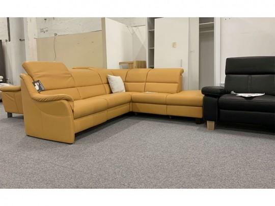 Curry Sarog valódi bőr relax kanapé