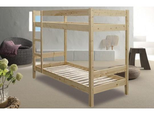 C292 fenyő emeletes ágy