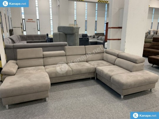 Kapucinó U alakú kanapé