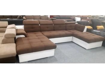 Monza U formájú modern ülőgarnitúra