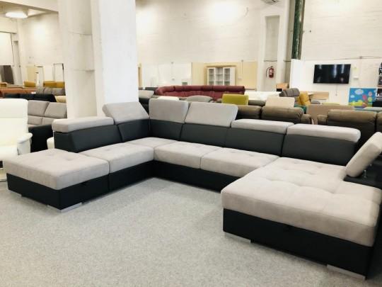 Reggio U formájú ágyazható ülőgarnitúra