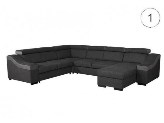 Royal U alakú kanapé