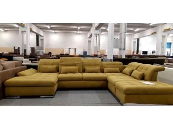 Sanfino U alakú ágyazható ülőgarnitúra